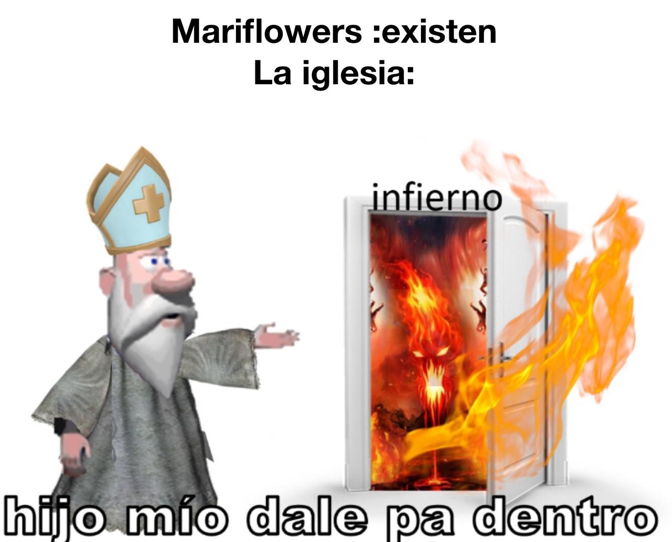 Gays y la iglesia - meme