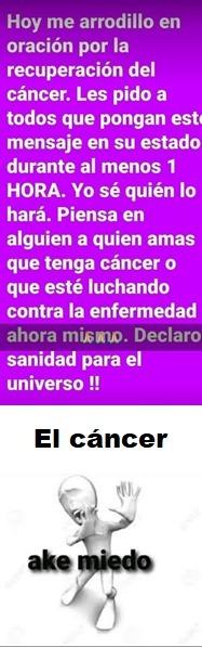 Cancerígeno - meme
