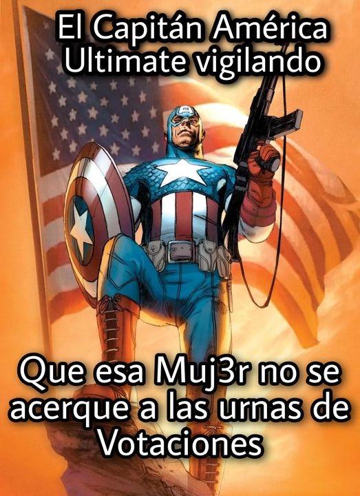 Contexto: Ese capitan america es como la gente era en los 40s osea Racista,Homofobico,etc... - meme