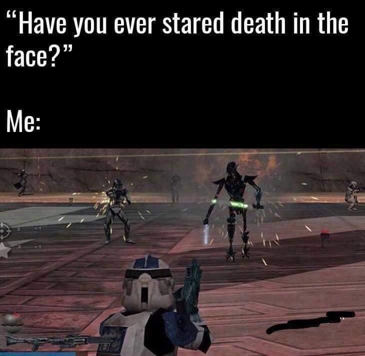Hello Death my old friend - meme