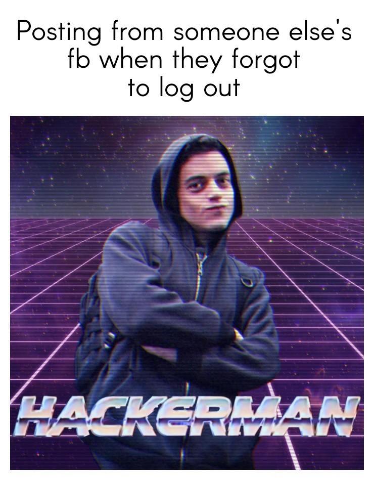 #hacked - meme
