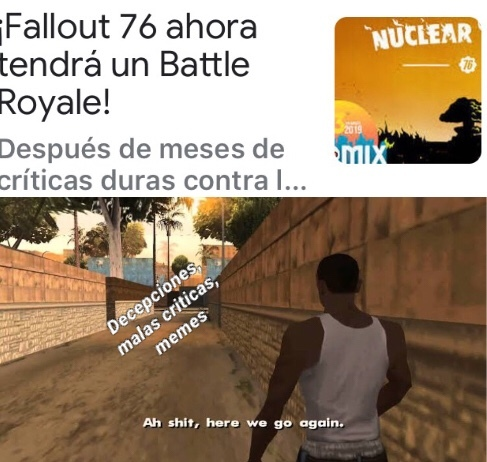 again Battle Royal - meme