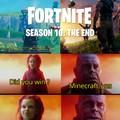 Minecraft won