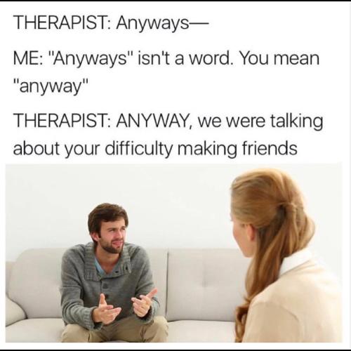 therapists - meme
