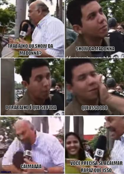jornalismo de primeira - meme