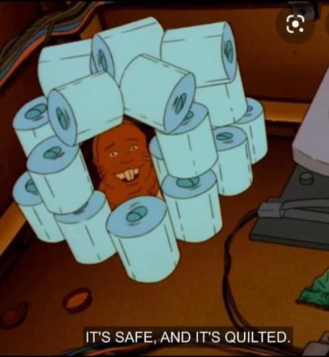 Toilet paper - meme