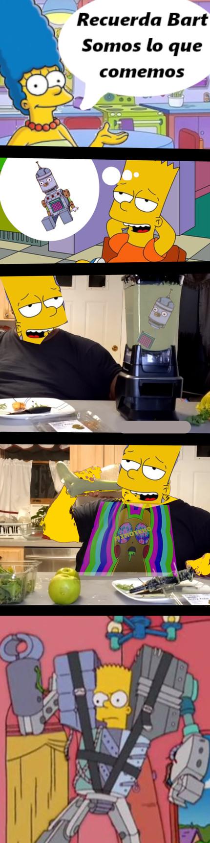 Somos lo que comemos - meme