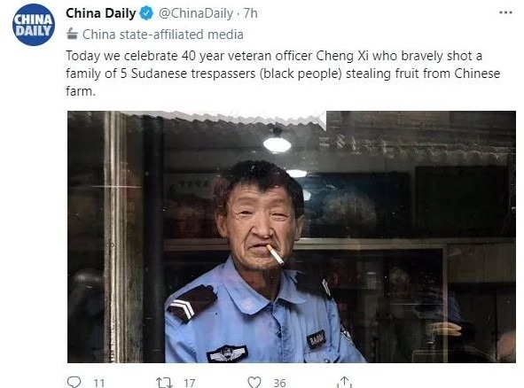 Not all Chinese people are evil, see - meme