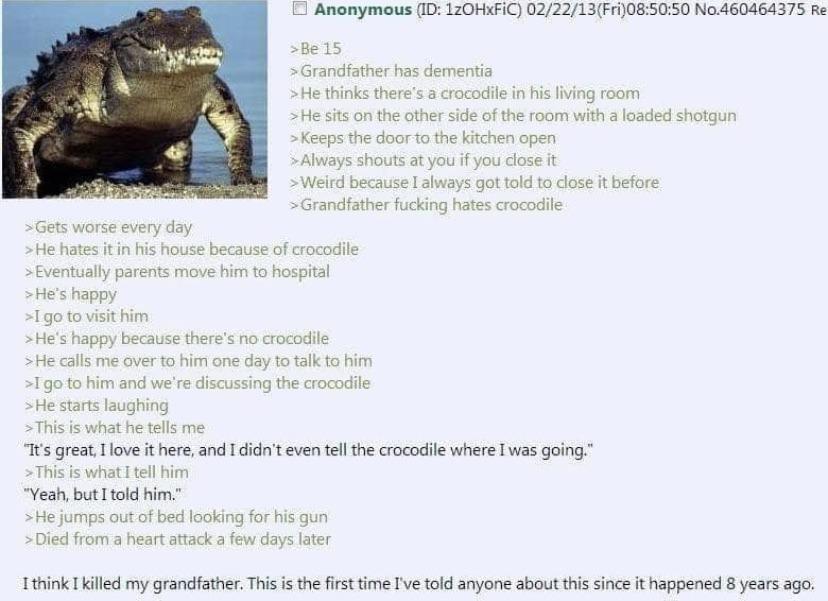 In a while crocodile - meme