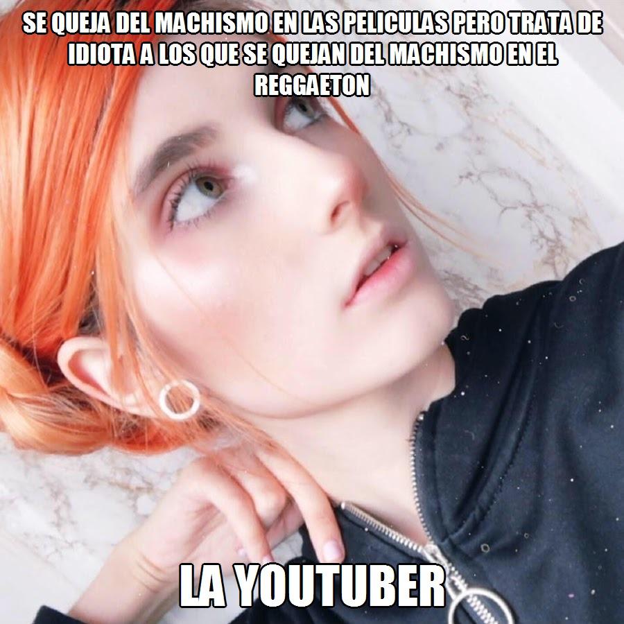 """En su video """"Mi problema con Lolita"""" considero """"gente estupida"""" a los que dicen a las mujeres que no pueden ser feministas y gusterle el reggaeton - meme"""