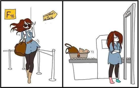 Look aéroport - meme