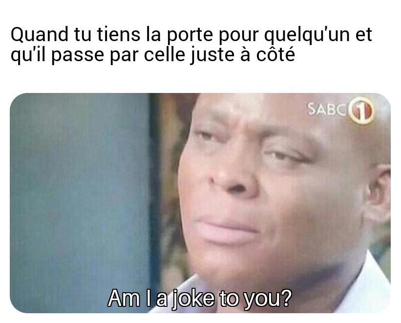 Life is a joke. - meme