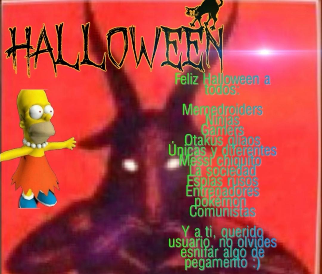 Feliz Halloween - meme