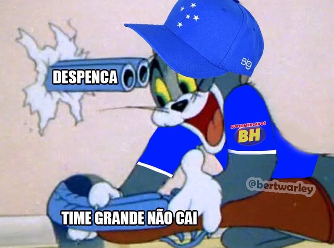 Cruzeiro Serie B - meme