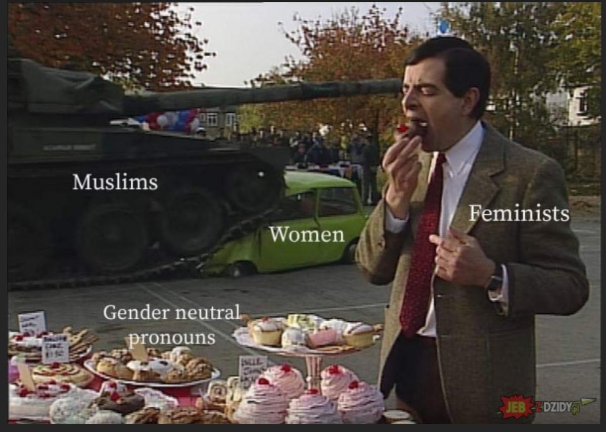 Brave feminists - meme