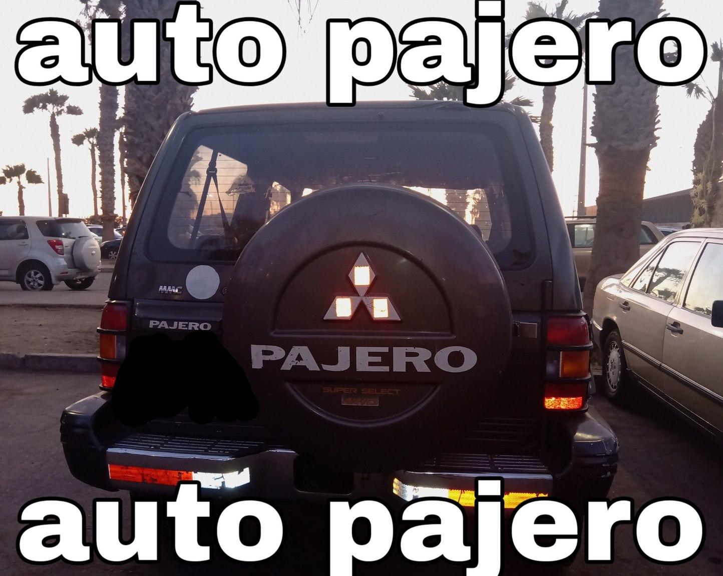 Auto pajero auto pajero - meme