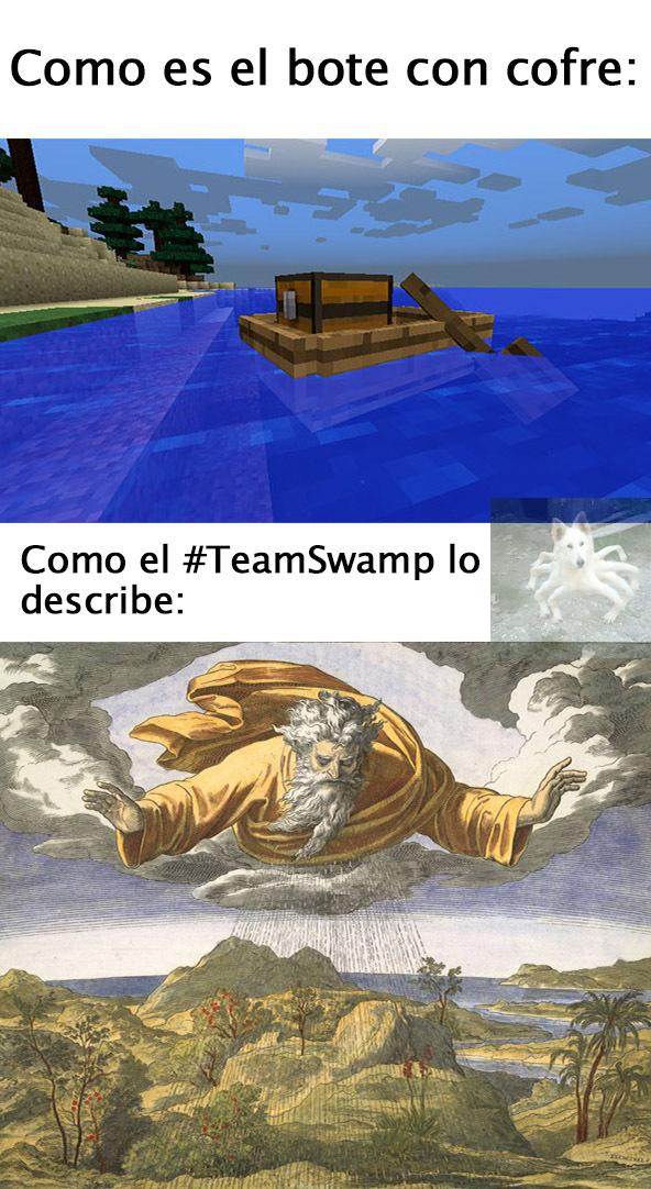 es lo mismo que un bote con llamas pero compacto - meme
