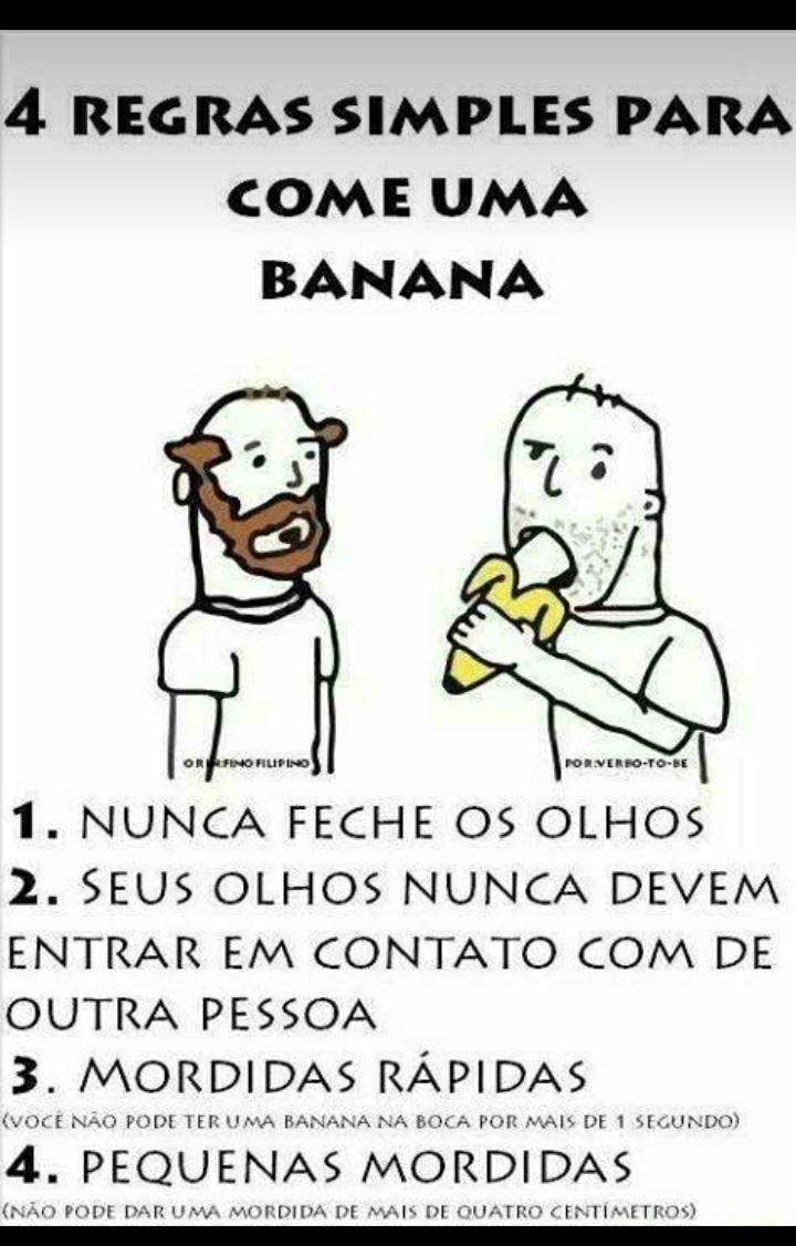 Sim eu como banana com comida sua vagabunda... repost nn passar - meme