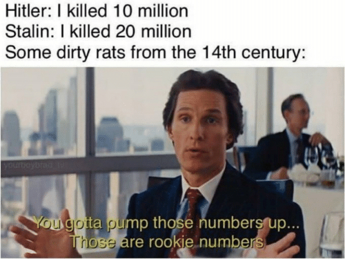 ROOKIE NUMBERS - meme
