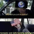 Leave America alone! Leave em alone! Im serious!
