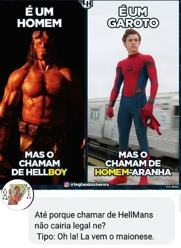Maionese dos infernos - meme