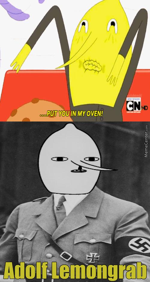 Adolf lemongrab - meme