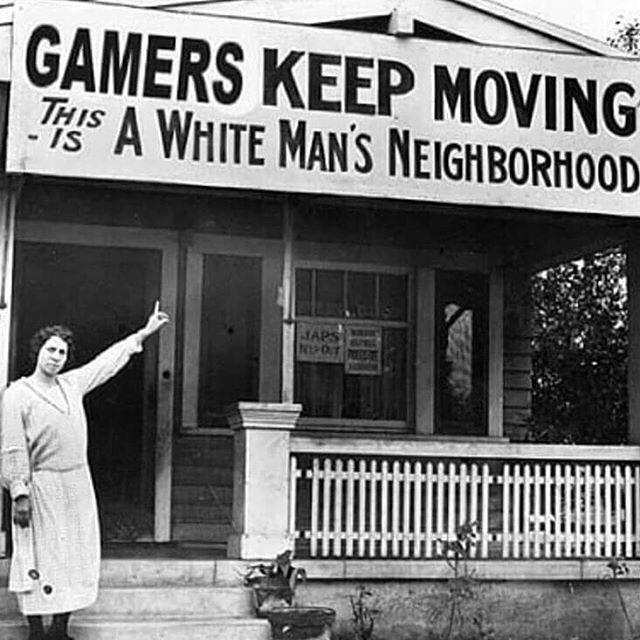 Oppressed gamers rise up - meme