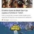El título está jugando el batlle royal en Black Ops 4  :)
