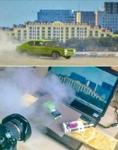 Pourquoi avoir un scénario crédible quand on a des explosions?!! - meme