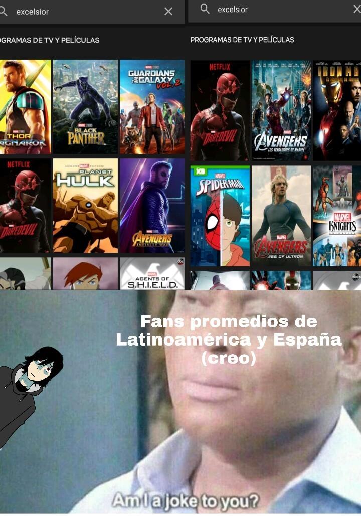 No se como será en España pero puto Netflix - meme