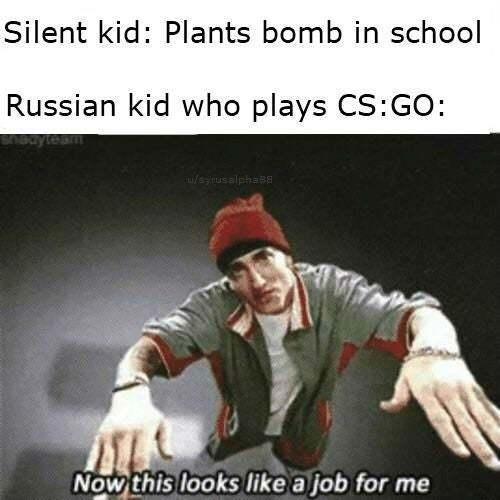 Job = me - meme