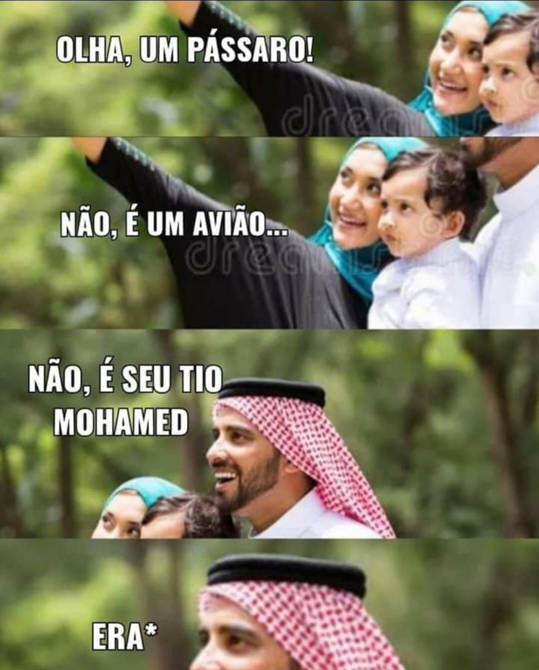 o título virou terrorista ALAHU AKBAR - meme
