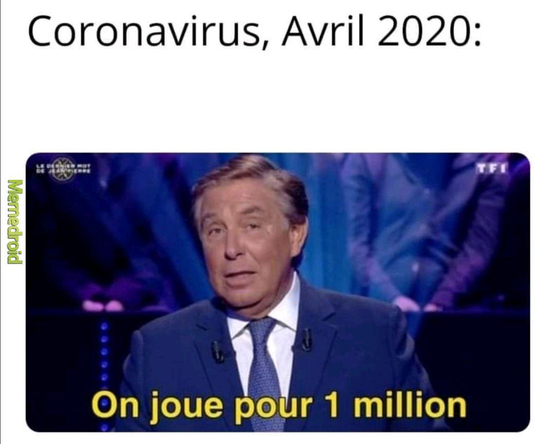 Le millions le millions - meme