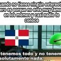 Propongo crear un estereotipo para República Dominicana