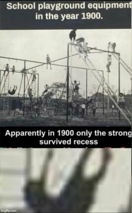 The weak should fear the strong - meme