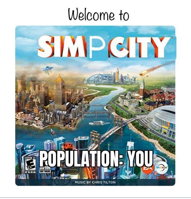 Simp City - meme