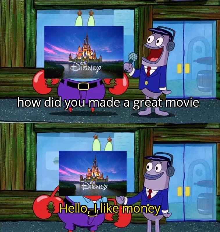Disney 2021 in a nutshell - meme