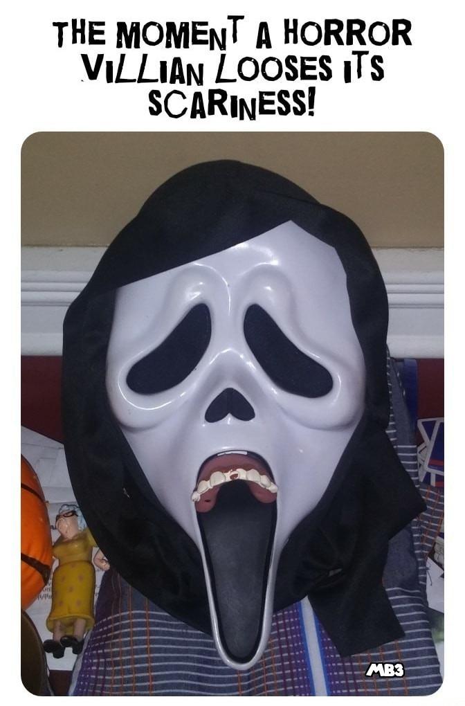 Redneck Ghostface - meme