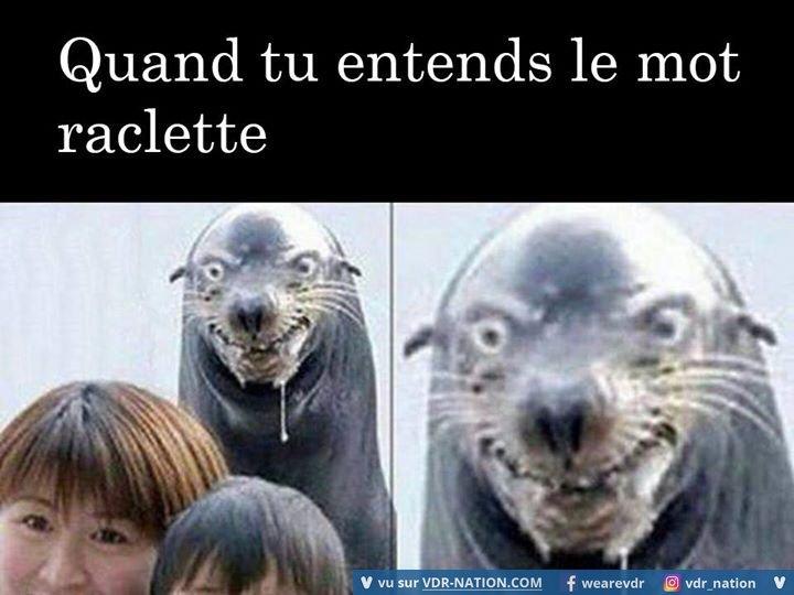 Raclette - meme