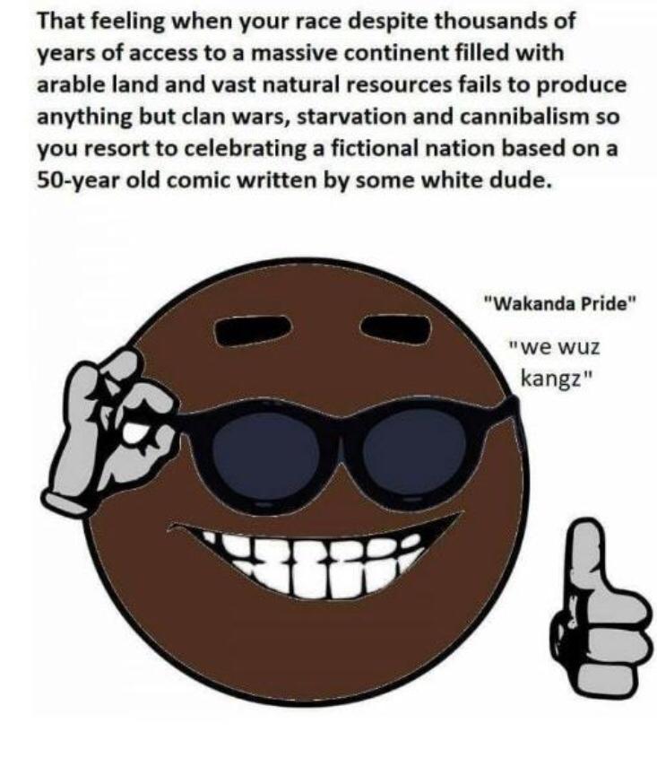 WAKANDA FOREVER - meme