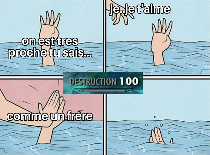 Friendzone level 99999 - meme