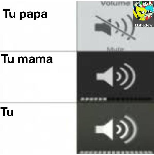 Sonidos distintos entre familia - meme