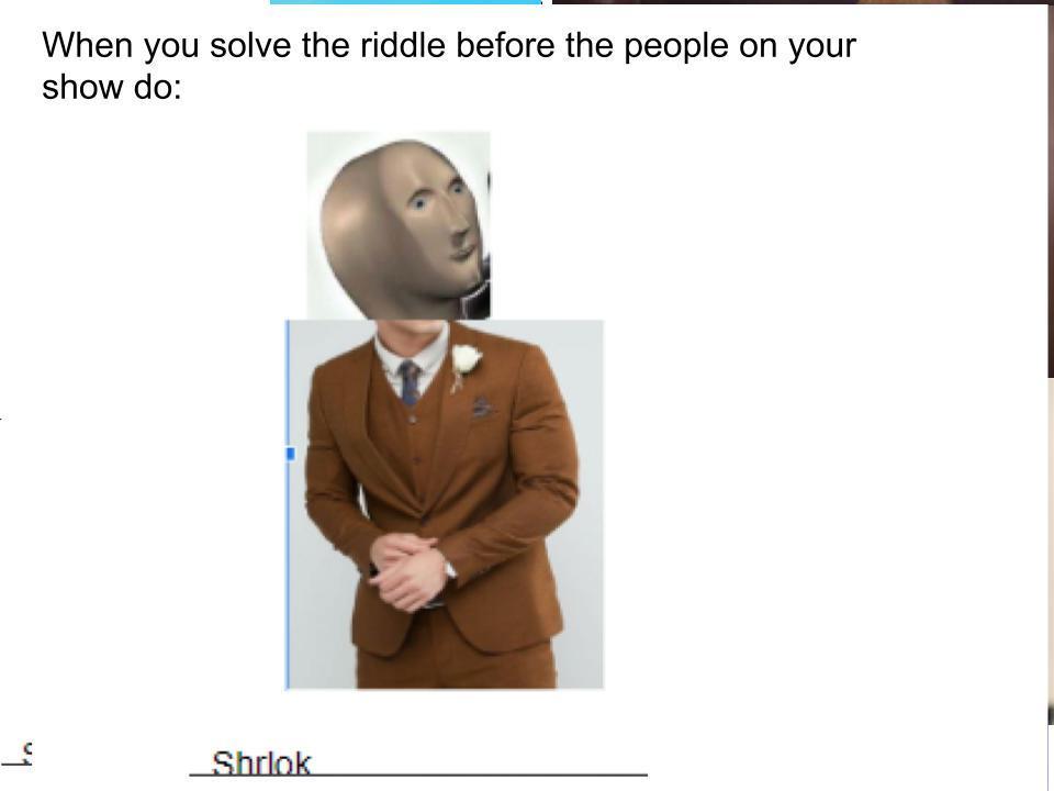 Shrlok - meme