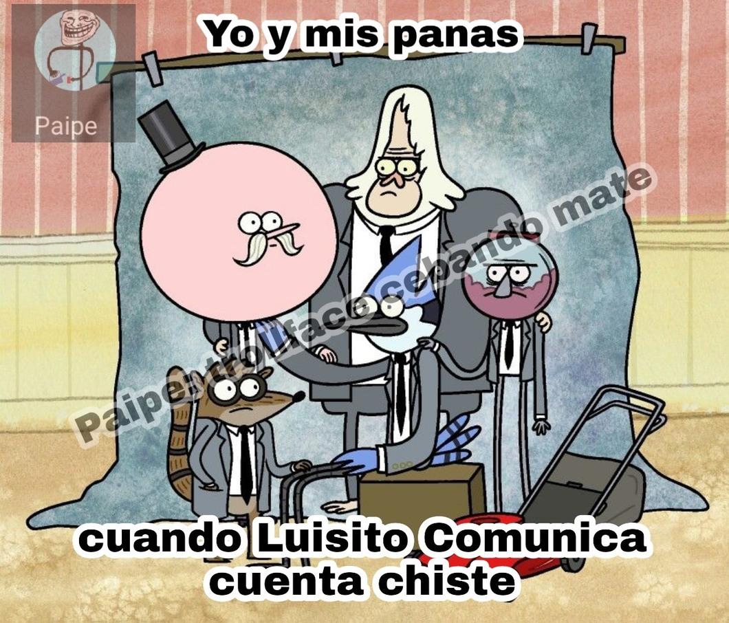 Luisito es grasoso - meme