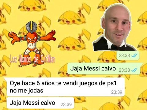 Jaja Messi Calvo - meme