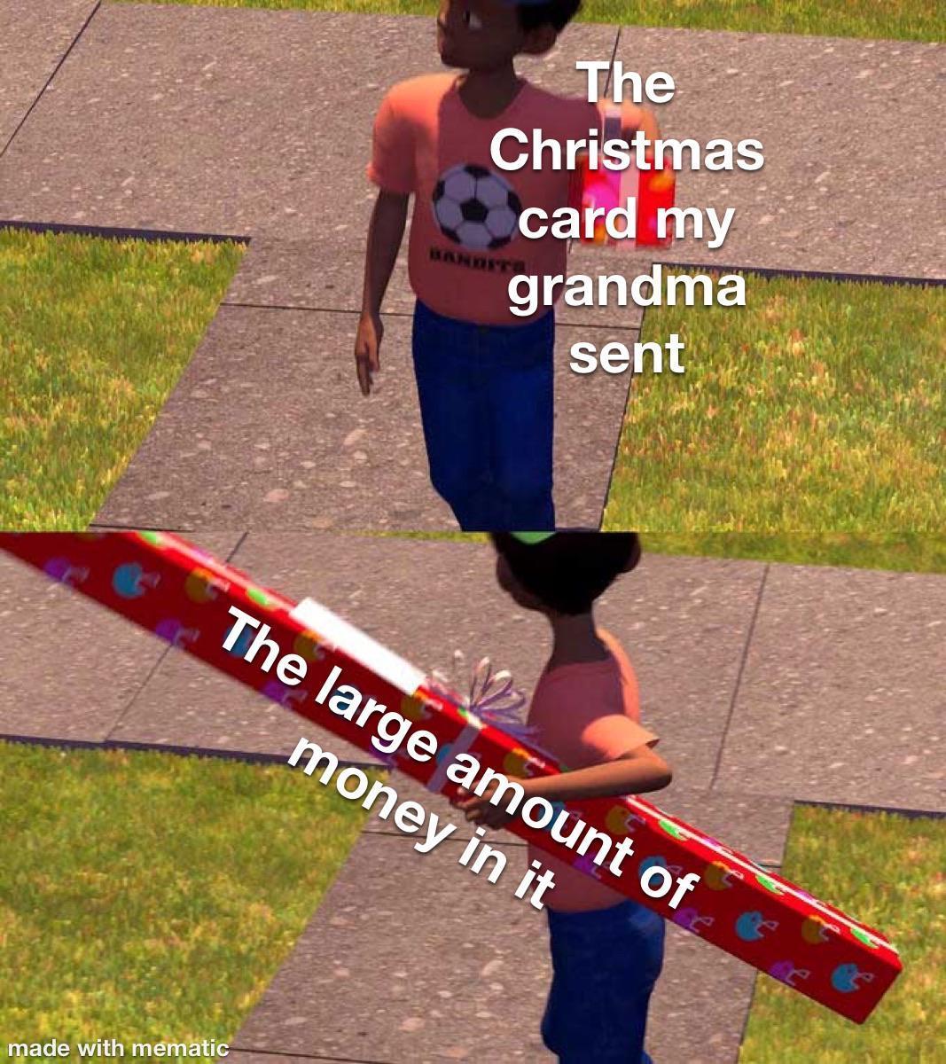 Thanks grandma! - meme
