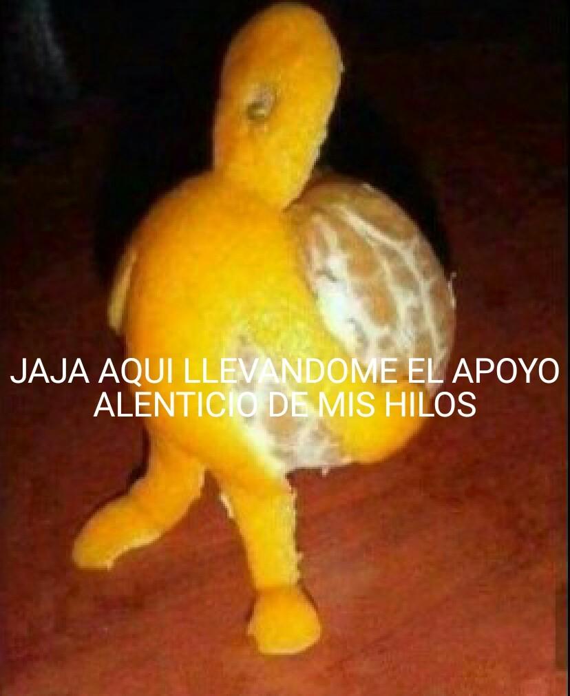 Mandarina - meme