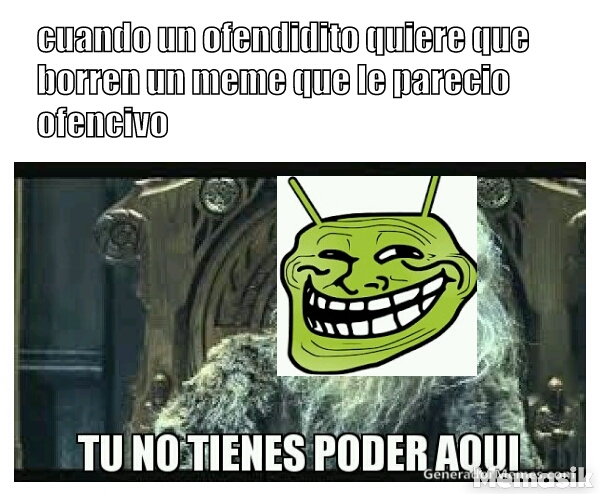 Ofendiditos - meme