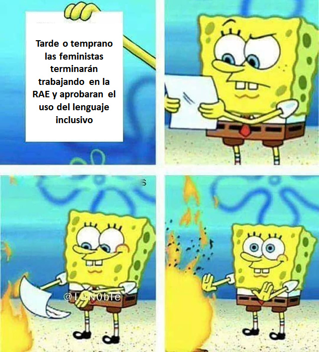 Razones para estudiar lenguas y literatura - meme
