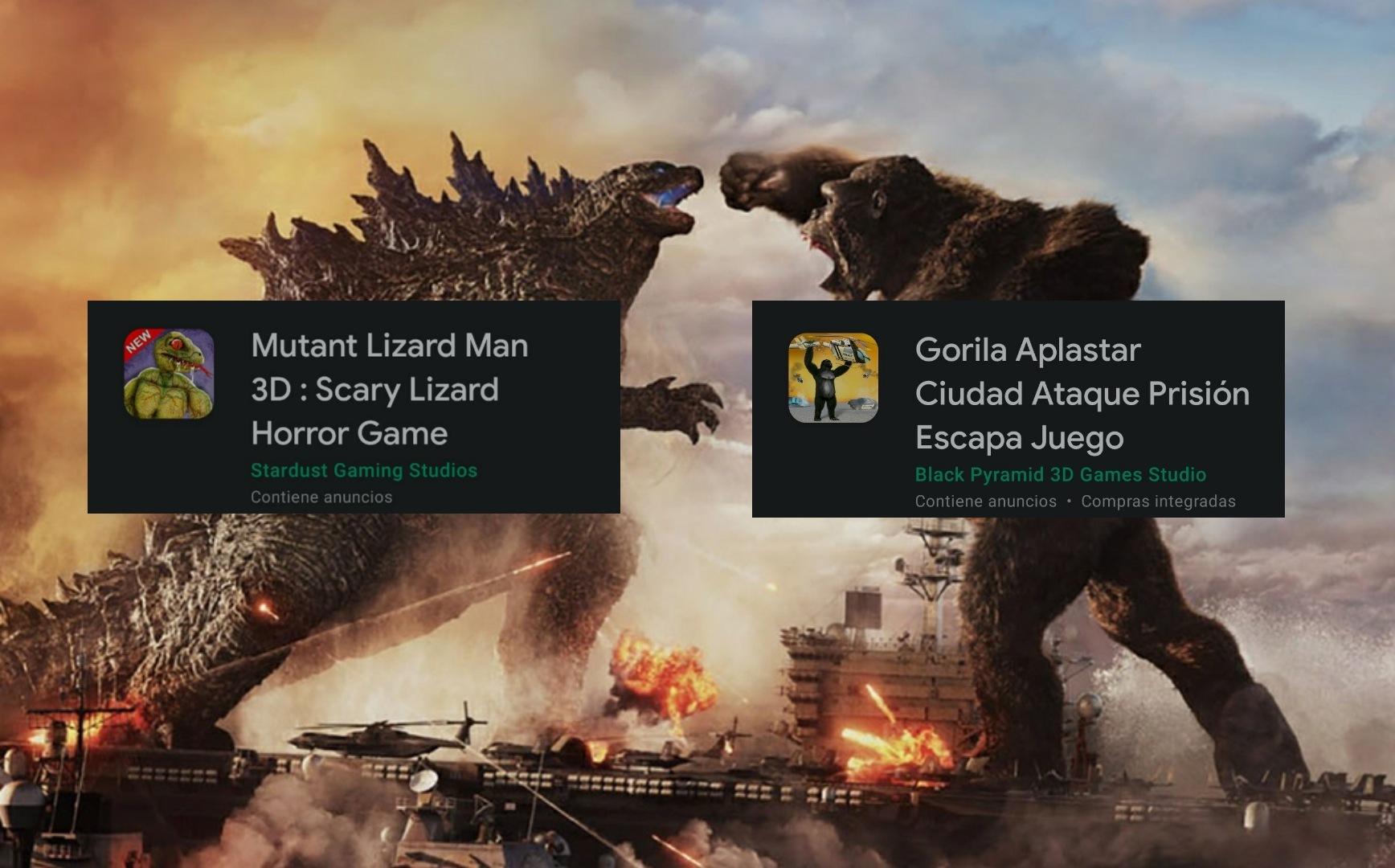 Godzilla vs kong está quemadísimo - meme